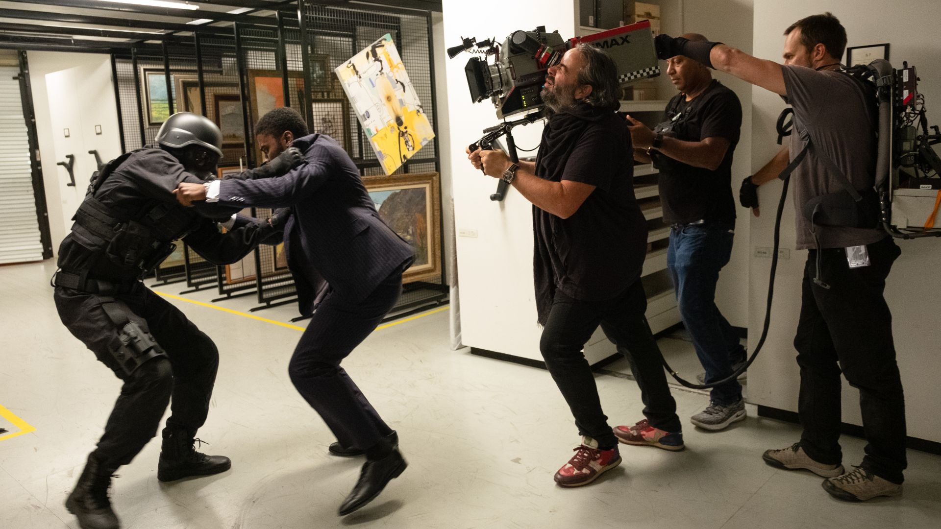 Tenet: Christopher Nolan on the complexities of filming time-inverted fighting scenes   GamesRadar+