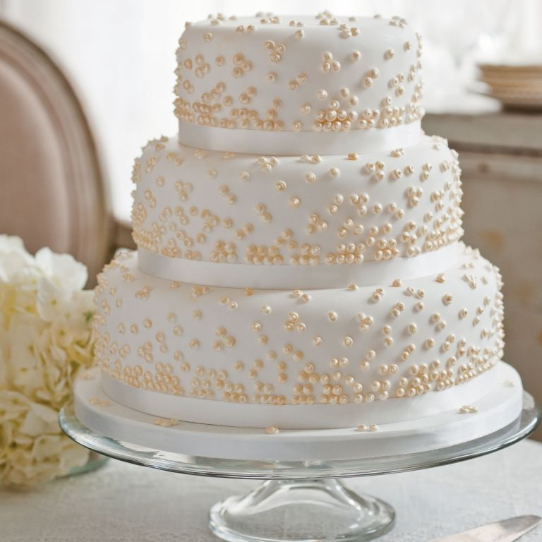 Victoria Glass' Grace Kelly wedding cake photo