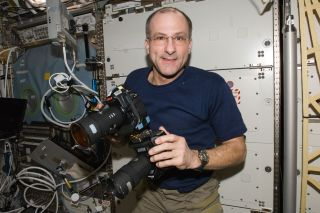 NASA Astronaut Don Pettit in Space