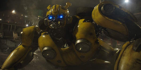 Bumblebee in his Transformers movie