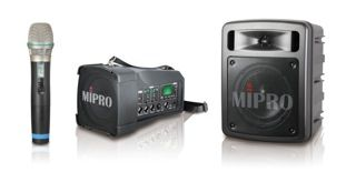 MIPRO Launches MA-100 and MA-303 Portable Wireless PAs