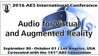AES Readies Audio for VR/AR Conference