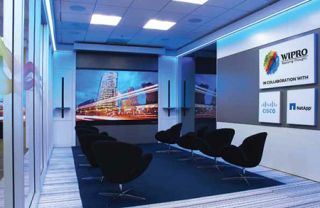 Prysm Video Wall Showcases Collaboration for Wipro Customers