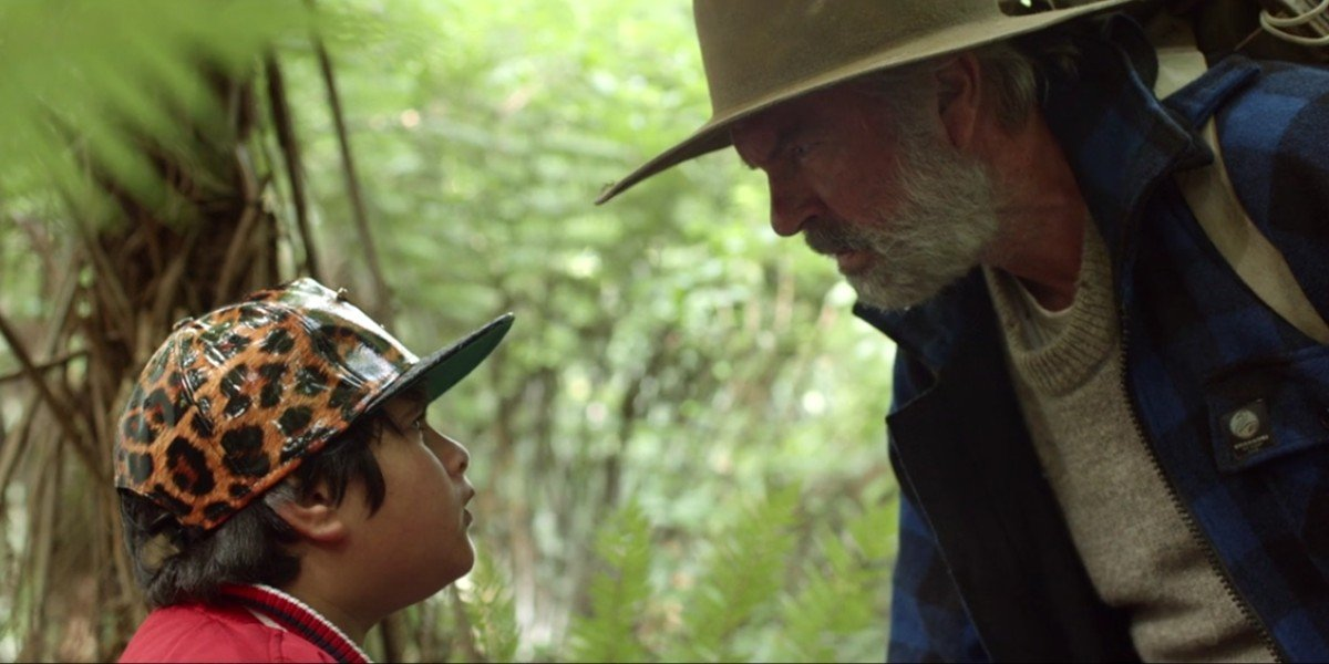 Sam Neill and Julian Dennison in The Hunt For The Wilderpeople