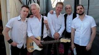 A photo of Status Quo at Hyde Park