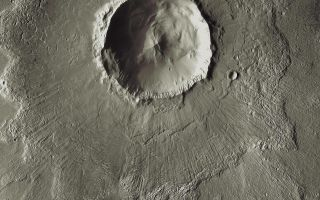 Mars Odyssey All Stars: Bacolor Crater
