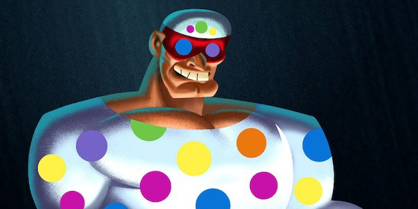 Polka-Dot Man from Batman: The Brave and the Bold