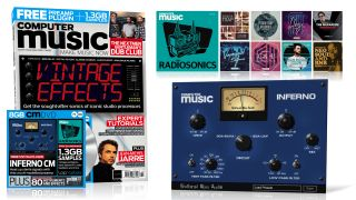 Get the sound of iconic studio processors, free VST/AU preamp, Jean-Michel Jarre interviewed, The Nextmen vs GDC in the studio, free RadioSonics samples and more