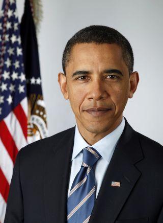Barack Obama official portrait