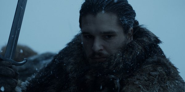 jon snow beyond the wall game of thrones hbo