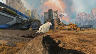 Apex Legends Apex Chronicles Bloodhound event white raven in world's edge