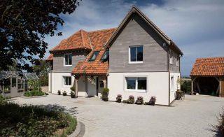 The UK's first oak frame Passivhaus