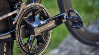 Shimano Dura-Ace R9200 chainset up close