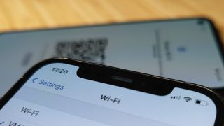 How to share a Wi-Fi password