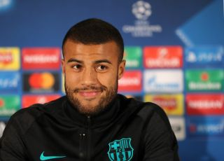 Barcelona Training and Press Conference – Celtic Park