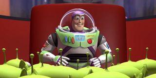 Buzz Lightyear in Toy Story