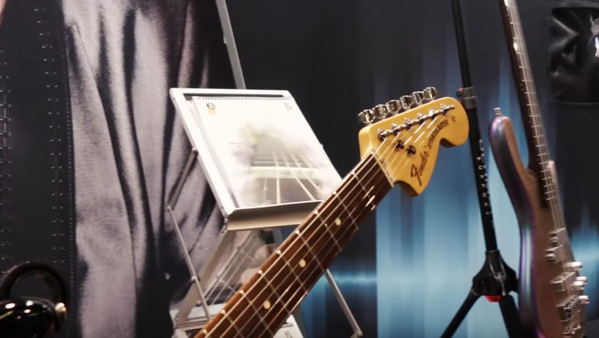 GW live at NAMM 2020: Graph Tech's Ratio machine heads will get you in tune - and make sure you stay there