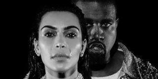 Kim and Kanye from his video