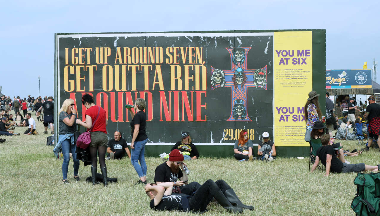 What happened when Guns N' Roses headlined Download | Louder