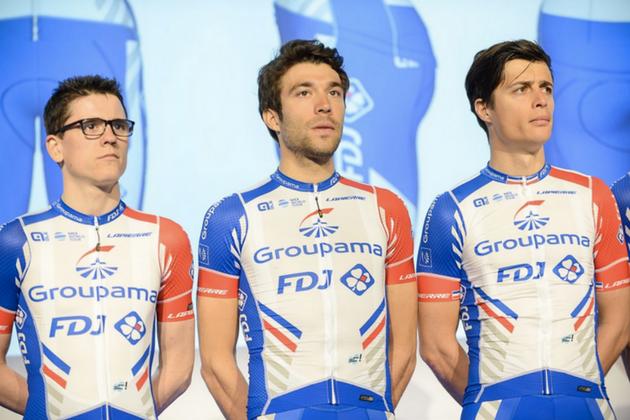 7e7ec8c20 Groupama-FDJ reveal new kit for 2018 season - Cycling Weekly