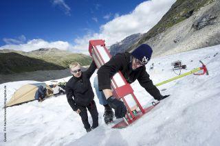 icemole drill glacier test