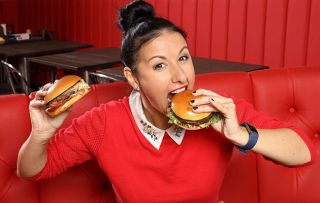 Ex Emmerdale star Hayley Tamaddon chows down on a diet of junk food for ITV's new experiment
