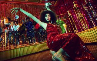 Pose Picture Shows: Angel (INDYA MOORE)