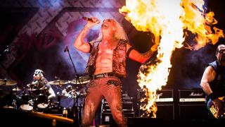 Twisted Sister at Bloodstock