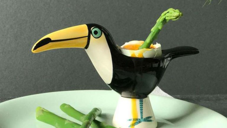 toucan egg cup, Graham & Green