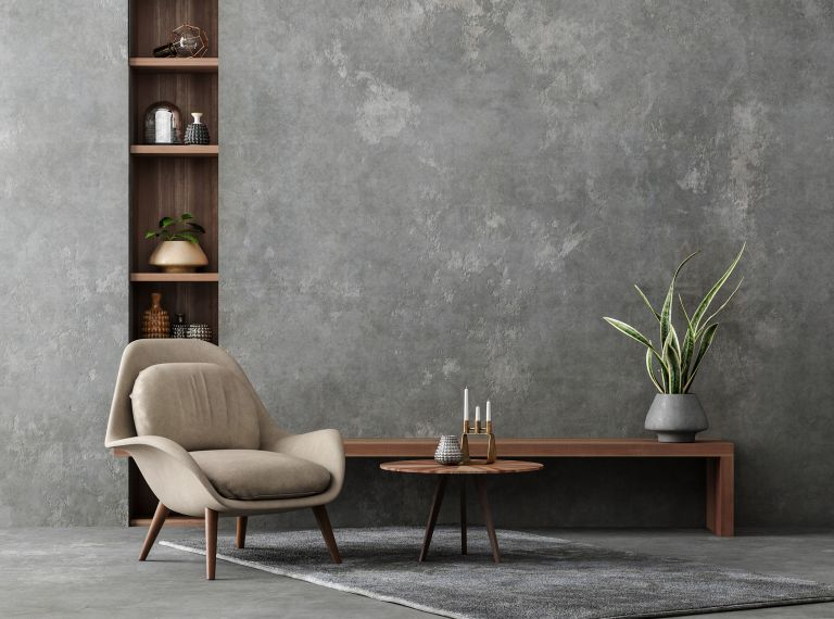best armchairs on display in living room