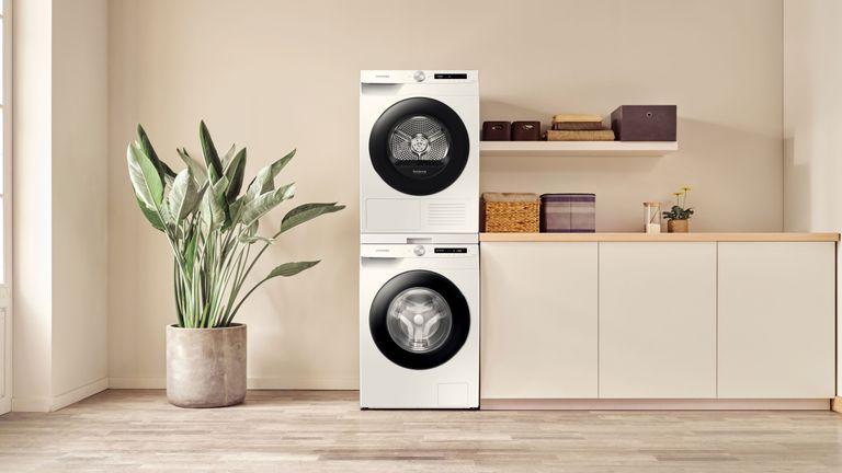 Samsung washing machines in kitchen