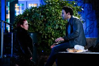 Whitney proposes to Kush in EastEnders