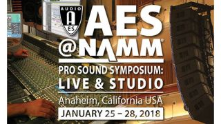 AES@NAMM Pro Sound Symposium Announces Education Program