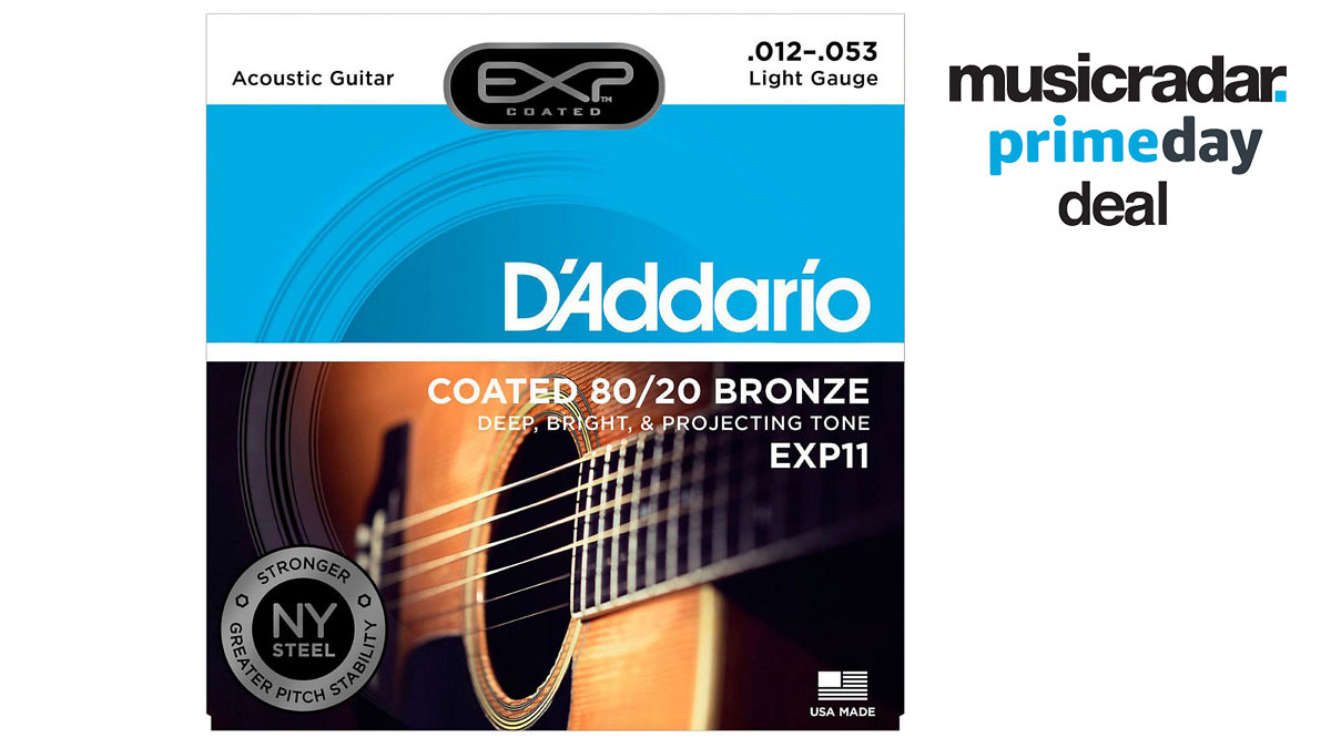 Prime Day lightning deal: up to 73% off D'Addario acoustic guitar strings | MusicRadar