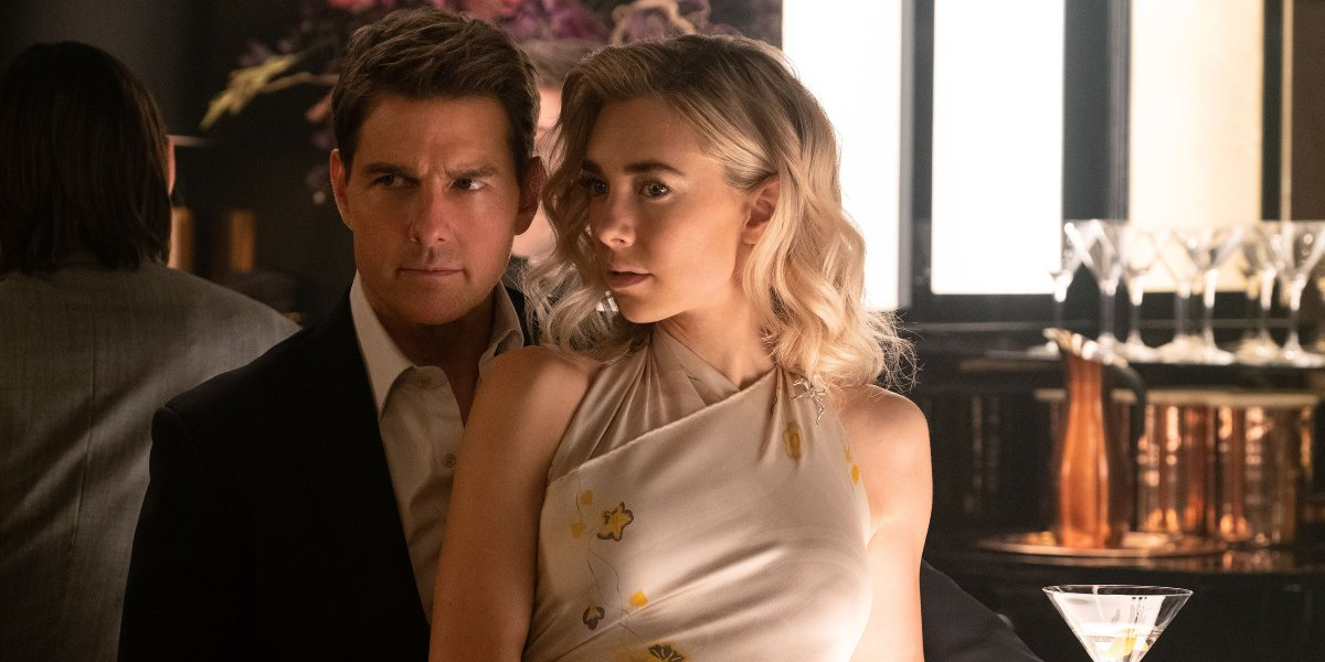 Tom Cruise and Vanessa Kirby in Mission: Impossible - Fallout
