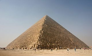 Great Pyramid of Giza, also known as the Pyramid of Khufu or Pyramid of Cheops. Credit: Nina | Creative Commons