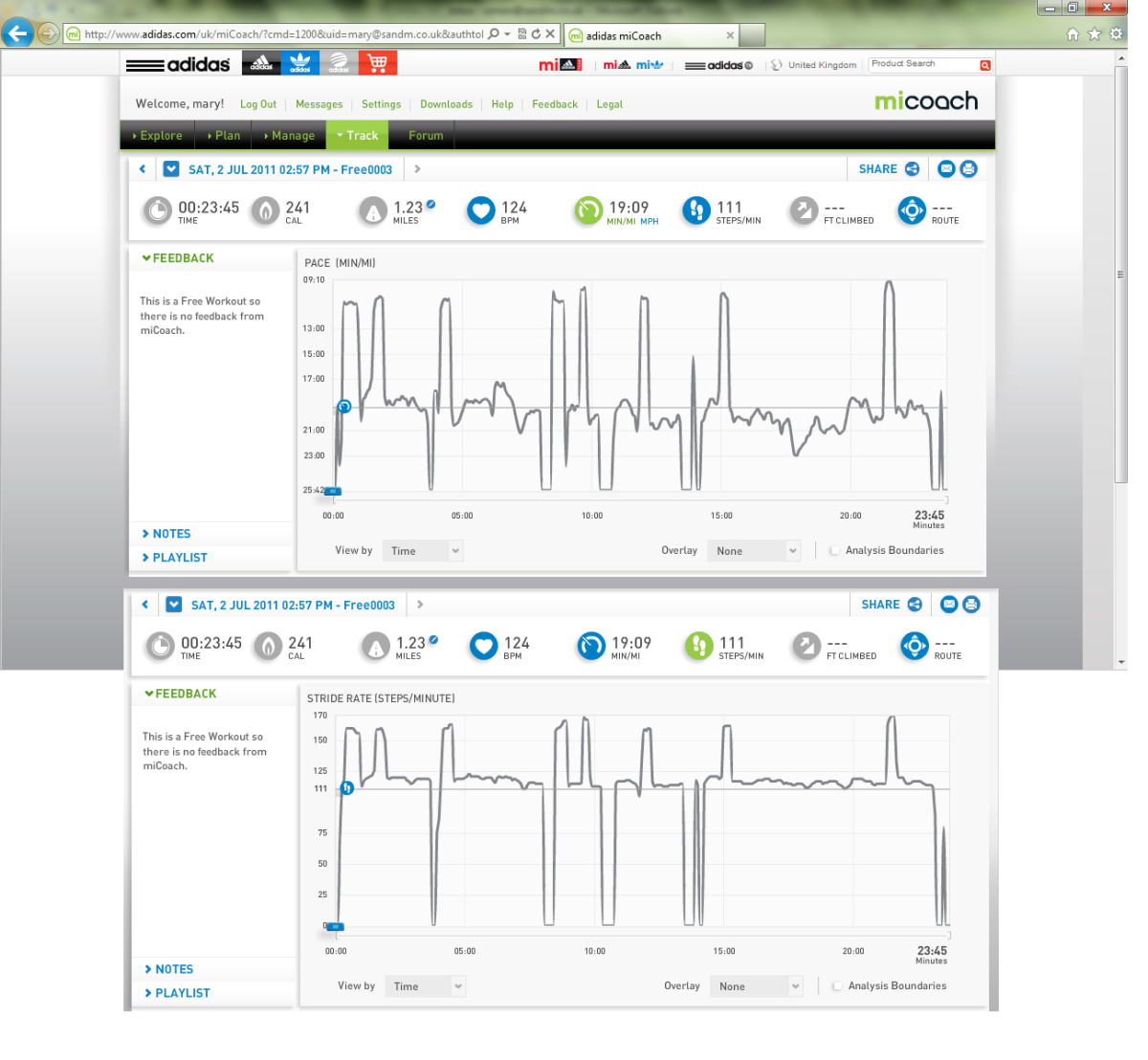 Adidas miCoach - Fitness and Health Gadgets: Tracking your Life