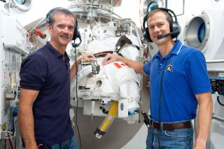 Hadfield and Marshburn to Conduct Aging Research