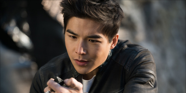 Ludi Lin as Zack in Power Rangers