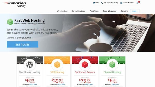 InMotion Hosting review: Feature-rich hosting for al
