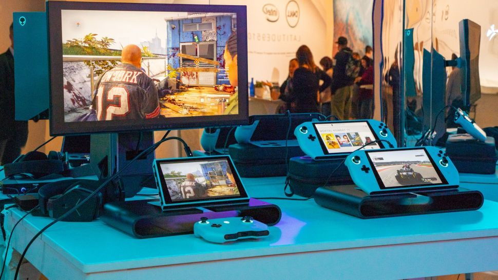 I tried out Alienware's ridiculous handheld gaming PC, and it made me want a Switch Pro