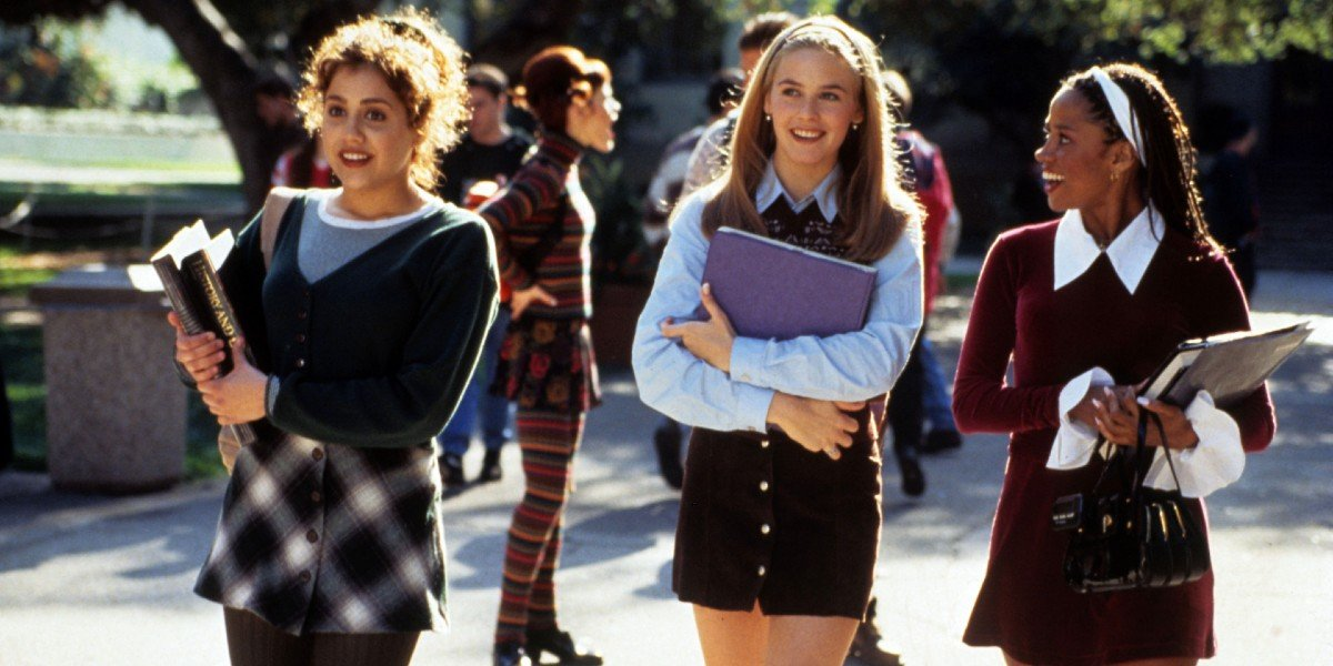 Alicia Silverstone, Brittany Murphy, and Stacey Dash in Clueless