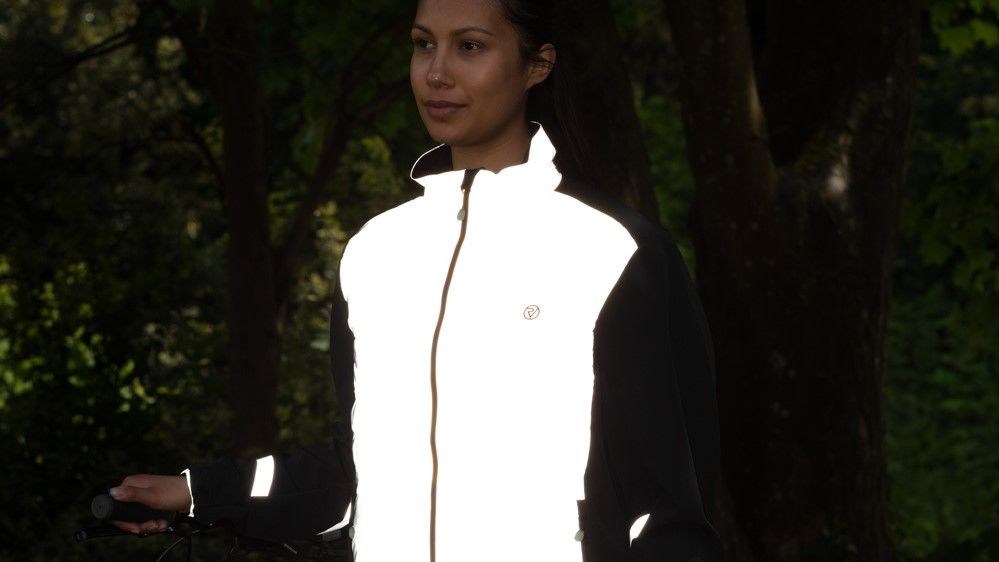This super-bright jacket keeps e-bike riders safe and snug (for a price)
