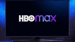 HBO Max logo op een smart TV