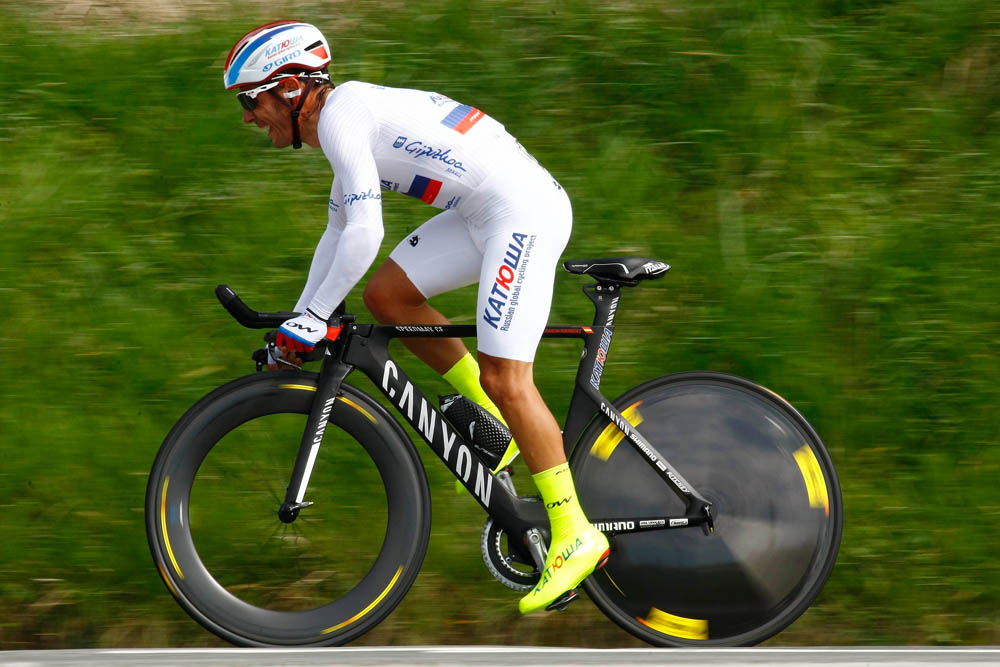 a8817edc8 Joaquim Rodriguez in action during the Stage 6 Individual Time Trial of the  2015 Tour of