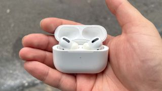 AirPods Pro: My AirPods Pro en route to the Apple store