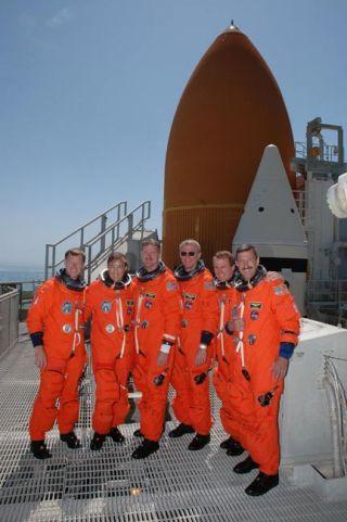 Atlantis Shuttle Astronauts Eager for Spaceflight