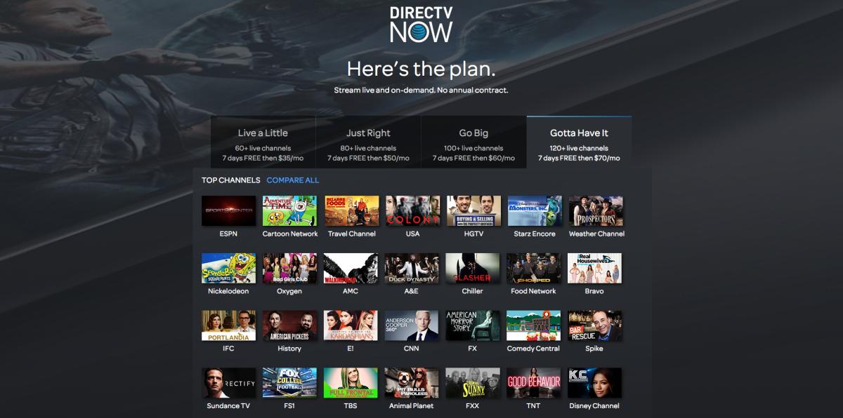 DirecTV Now vs  PlayStation Vue vs  Sling TV: Face-Off | Tom's Guide