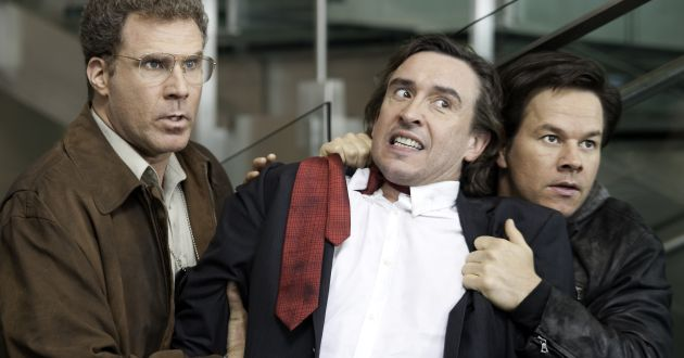 """L-r, Will Ferrell, Steve Coogan and Mark Wahlberg  in Columbia Pictures' comedy """"The Other Guys"""""""