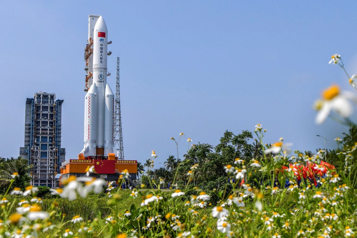China is set to launch first module of massive space station